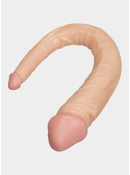 14 Inch Curved Realistic Double Ended  Dildo