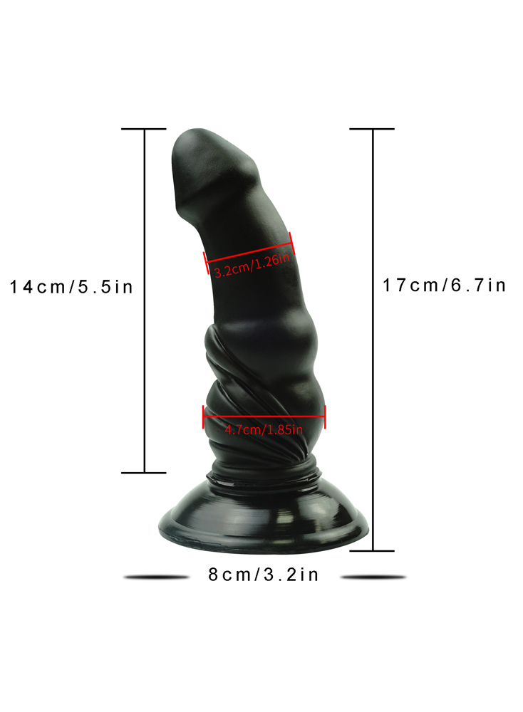 """6.7"""" Anal Dildo Bullets Shaped"""