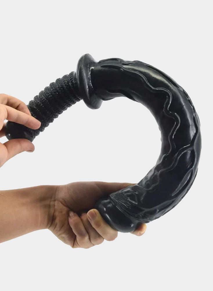 """Dildo With Handle 18"""""""