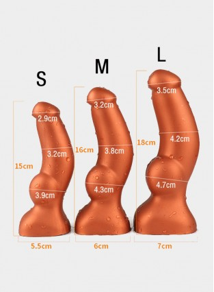 Huge Realistic Dildo Big Penis Anal Dildo Masturbation Soft Liquid Silicone With Strong Suction Cup Golden/Black