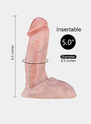 Artificial Real Dick Penis Double Layer Silicone Penis Masturbator Erotic Sex Toys for Women Realistic Dildo For Female