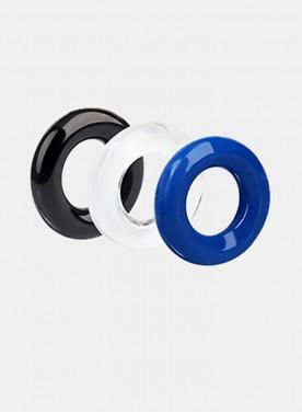 3color pcs Soft Dick Cock Ring Erection Prolong Penis Condoms Delay Rings Sex Toys For Male Enlarger Orgasm Enhancer