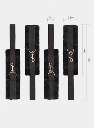 BDSM Handcuffs & Ankle Cuffs Adult Games SlaveWith Bed Restraint System Sex Toys Erotic Bondage Sex Toys For Couples
