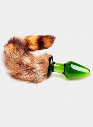 Fox Tail Anal Plug Feather Anal Beads Adult Sex Toys Prostate Massage Butt Plug