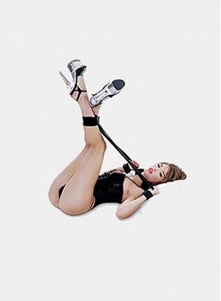BDSMS Bed Restraints Kit Wrist Thigh Leg Restraint System HandAnkle Cuff Bed Restraints Sex Bondage Position Support Sling Sex Play