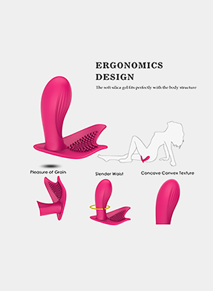 Wearable Wireless Remote Control Vagina G Spot Vibrator, Rechargeable Waterproof Invisible Clitoris Vagina Massager/Adult Sex Toys for Women and Couples