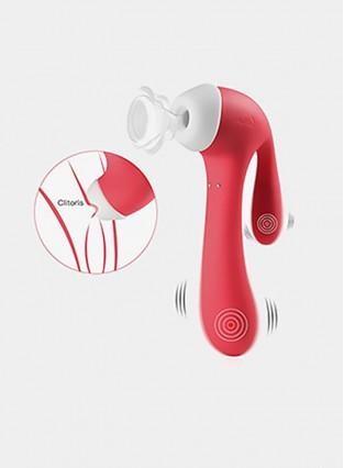 Sucker Vibrator G Spot ClitVibrators for Women with Suction and Vibration Nipple Stimulator Toys