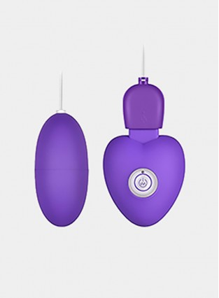 Remote Control Egg Vibrator G Spot Stimulation with 10-Frequency Vibrations
