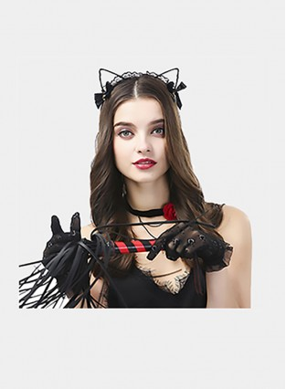Sex Toys For Women Role Play Decoration Accessories Lace Sexy Cat Ears BDSM Bondage Decoration