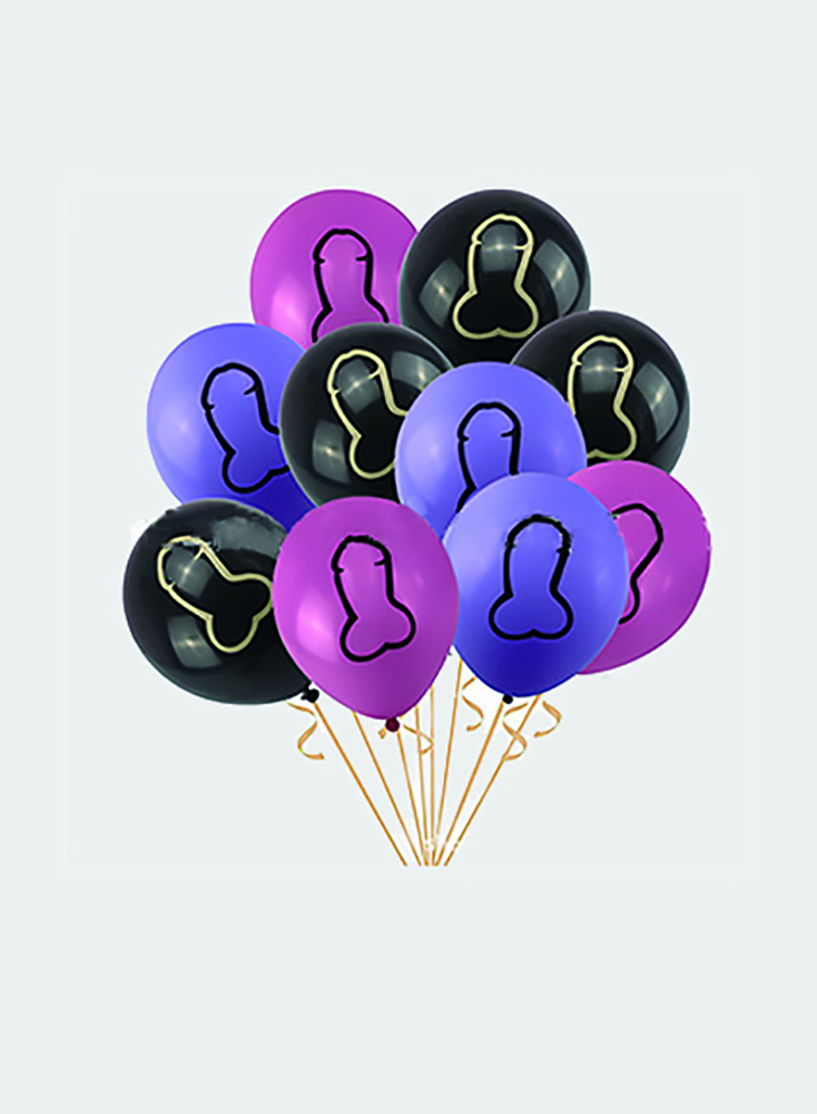Fun Sex Balloons Decor Night Party Decoration Bachelorette Party Girls Night Supplies Penis Accessories Sex toys